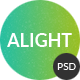 Alight - Multipurpose PSD Template - ThemeForest Item for Sale