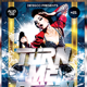 Turn Me Down Party Flyer
