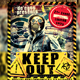 Keep Out Music Flyer - GraphicRiver Item for Sale