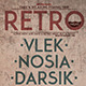 Retro Night V17 - GraphicRiver Item for Sale