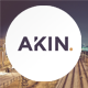 Akin - Creative One Page Joomla Template