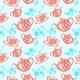 Morning Tea Seamless Pattern - GraphicRiver Item for Sale
