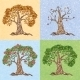Four Seasons Tree - GraphicRiver Item for Sale