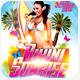 Bikini Sunrise Flyer - GraphicRiver Item for Sale