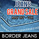 Border Jeans Flyer Template - GraphicRiver Item for Sale