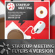 4 Startup Meeting Flyers - GraphicRiver Item for Sale