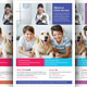 Pets Clinic Flyer Template - GraphicRiver Item for Sale