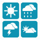 Set of Weather Icons - GraphicRiver Item for Sale