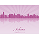 Jakarta Skyline - GraphicRiver Item for Sale