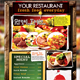 Alternative Restaurant Flyer - GraphicRiver Item for Sale