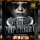 The VIP Party Flyer - GraphicRiver Item for Sale