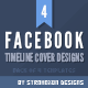 Facebook Timeline Covers - Pack of 4 - GraphicRiver Item for Sale