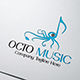 Octo Music Logo - GraphicRiver Item for Sale
