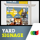 Modern Real Estate Yard Signage 6 + Riders