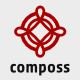 Composs Logo - GraphicRiver Item for Sale