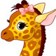 Giraffe Calf with Bow - GraphicRiver Item for Sale