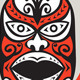 Maori Mask Shield Retro - GraphicRiver Item for Sale