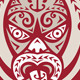 Maori Mask Tongue Out Shield Retro - GraphicRiver Item for Sale