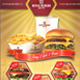 Food Flyer 5 (A5) - GraphicRiver Item for Sale