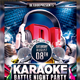Karaoke Battle Night Party Flyer