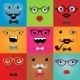 Set of Hipster Monster Eyes - GraphicRiver Item for Sale