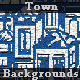 44 Town Backgrounds Set - GraphicRiver Item for Sale
