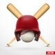 Symbol of a Baseball - GraphicRiver Item for Sale