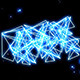 Blue Neon Triangles And Particles (6-Pack) - VideoHive Item for Sale