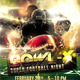 American Football Superbowl Flyer Design - GraphicRiver Item for Sale