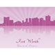 Fort Worth Skyline - GraphicRiver Item for Sale