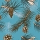 Pine Branches Pattern - GraphicRiver Item for Sale