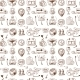 Logistic Icons Pattern - GraphicRiver Item for Sale
