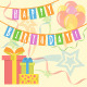 Happy Birthday Card - GraphicRiver Item for Sale