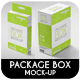 Package Box Mock-Up - GraphicRiver Item for Sale