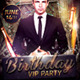 Birthday/Bachelor Party Flyer Template - GraphicRiver Item for Sale