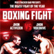 Boxing Fight Flyer Template - GraphicRiver Item for Sale