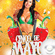 Flyer 5 de Mayo Celebration Party - GraphicRiver Item for Sale