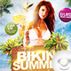 Flyer Bikini White Summer Party - GraphicRiver Item for Sale