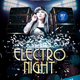 Electro Night - GraphicRiver Item for Sale