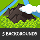 Game Asset : Backgrounds #2 - GraphicRiver Item for Sale