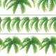 Seamless Pattern of Palm Leaves - GraphicRiver Item for Sale