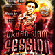 Urban Jam Session Flyer Template - GraphicRiver Item for Sale