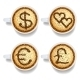 Cappuccino with Money and Heart Signs - GraphicRiver Item for Sale