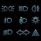 Car interface Symbols - GraphicRiver Item for Sale