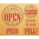 Vintage Open and Closed - GraphicRiver Item for Sale