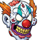 Zombie Clown Head - GraphicRiver Item for Sale