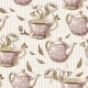 Seamless Background with Cups and Pots - GraphicRiver Item for Sale
