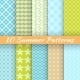 Colorful Geometric Bright Seamless Patterns - GraphicRiver Item for Sale