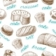 Baking Pastry Seamless Wallpaper - GraphicRiver Item for Sale