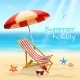 Summer Holidays Background Poster - GraphicRiver Item for Sale